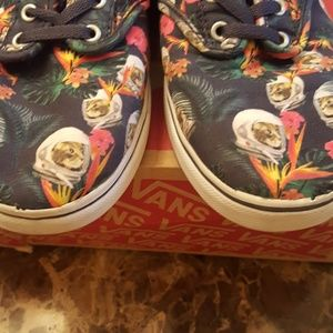347ea4cc8a6d5f Vans Shoes - Vans Atwood Lo Space Cat Sneakers in size 7